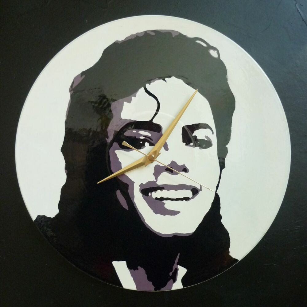 Michael Jackson 12 Quot Lp Vinyl Record Wall Clock Pop Art