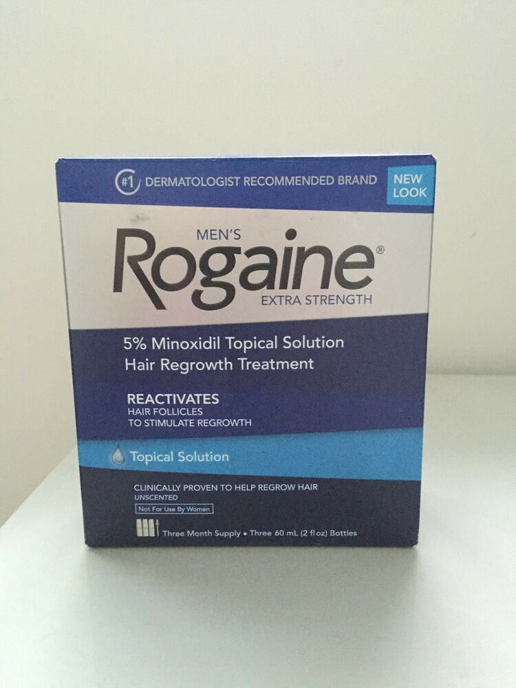 ROGAINE Extra Strenght Solution ( REGAINE ) 5% MINOXIDIL 3 month supply 312547700603 | eBay