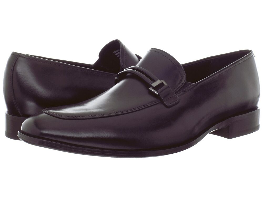 s bostonian kessler black slip on dress shoe 28065 ebay