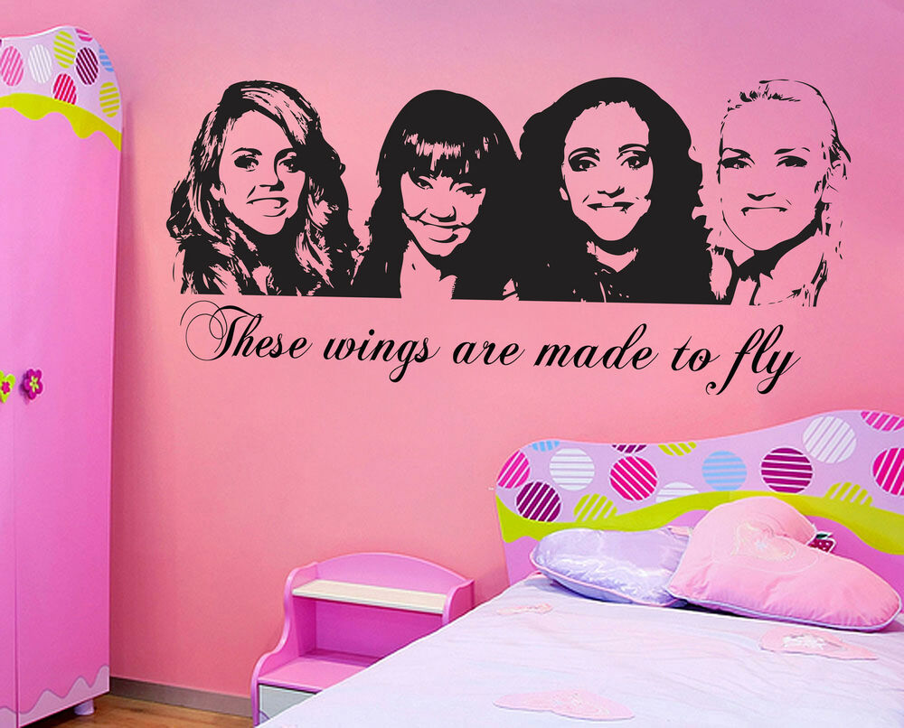 Wall Sticker For the Girls' Children's Room