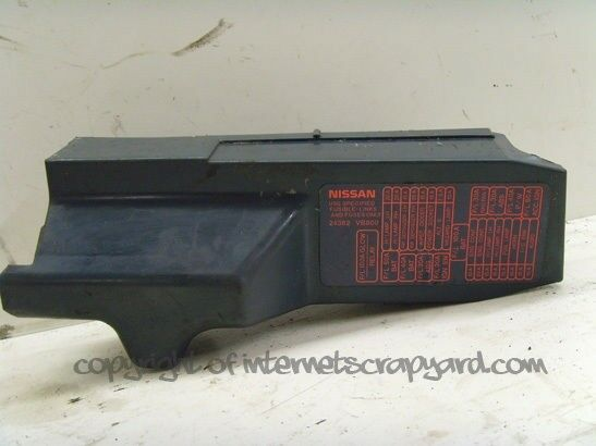 nissan patrol 3.0 y61 zd30 97-13 engine bay fuse box top cover trim | ebay nissan patrol gu fuse box 2001 nissan maxima engine fuse box diagram #9