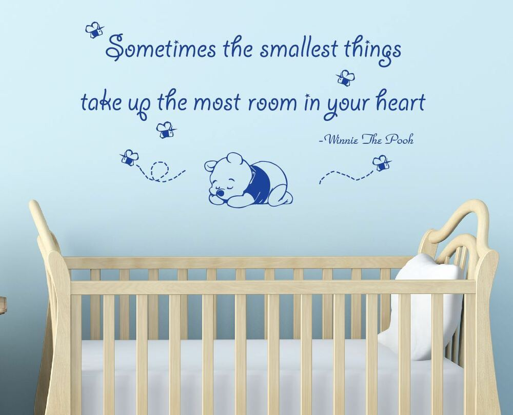 Sometimes The Smallest Things Winnie The Pooh Quote