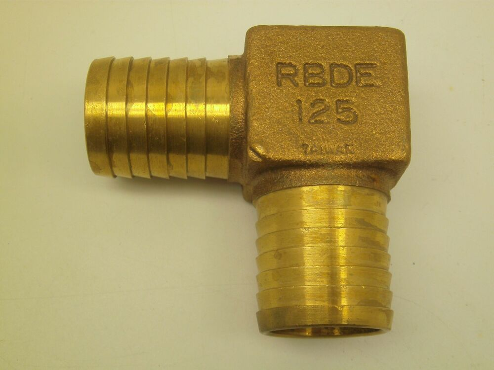 Quot od barb brass water well pump poly pipe barbed