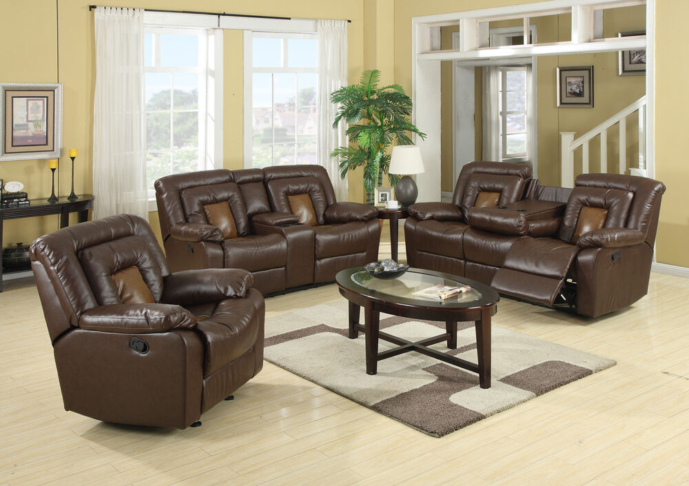 Cobra Reclining Sofa Loveseat Recliner Sofa Set Luxurious Living Room Furnit