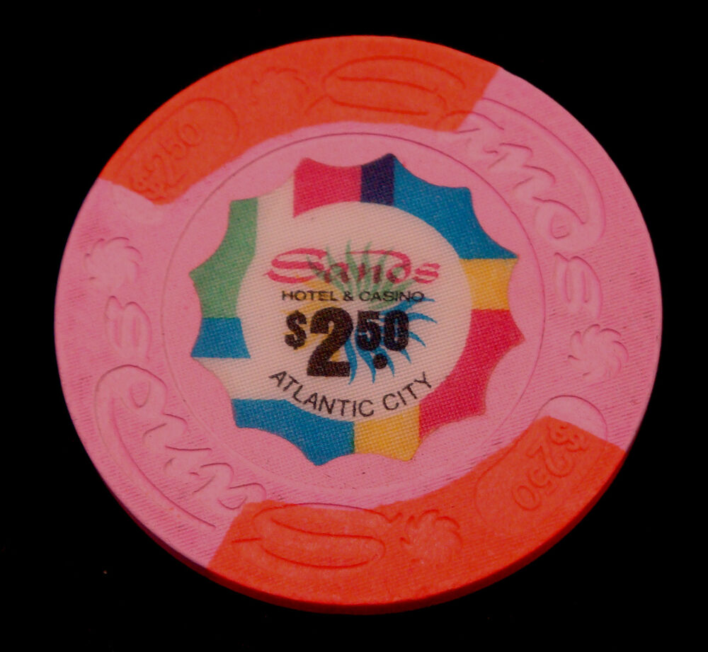 The Sands Atlantic City New Jersey $2.50 House Chip