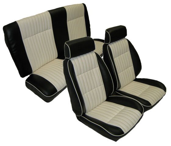 G body front bucket with rear bench seat
