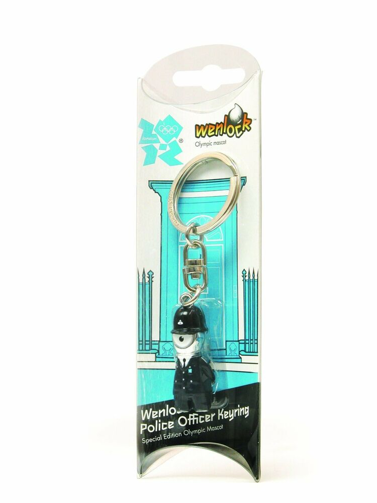 Shop For Cheap London Olympics 2012 Wenlock Queens Guard Metal Key Ring Without Return London 2012