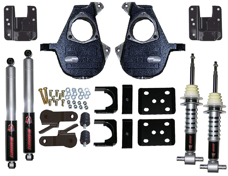 Mcgaughys Chevy Gmc Truck 07 13 2wd 4 6 Drop Kit Shocks