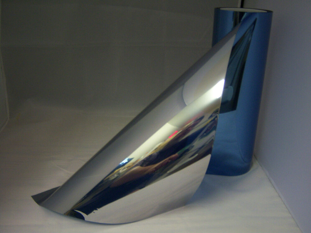 40 x 50 ft one way mirror film reflective blue silver 20 for Window tint film