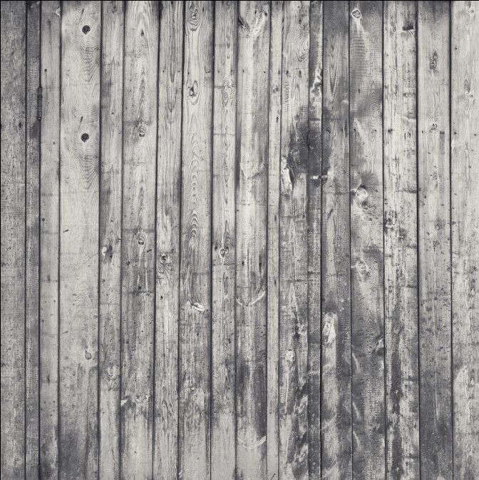 Canvas Distressed White Wood Faux Floor Backdrop 3ft X 4ft