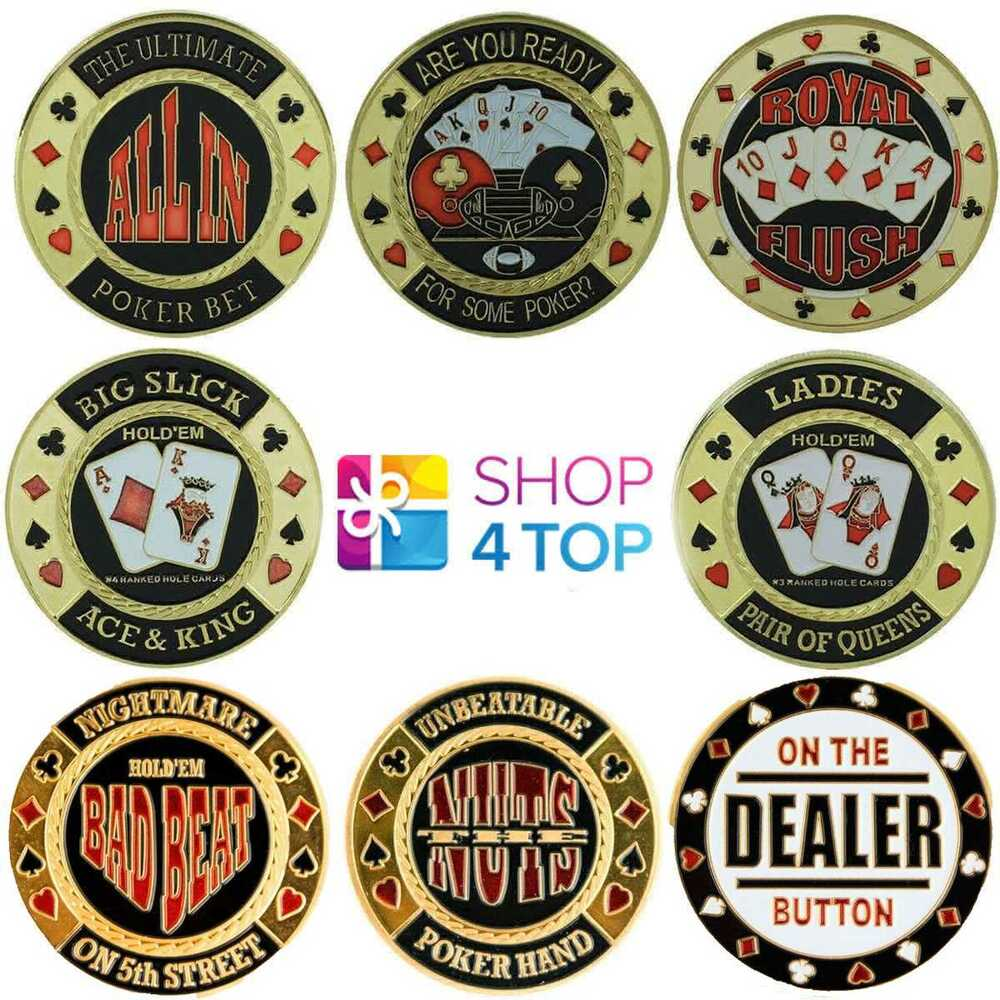 Poker weights coins