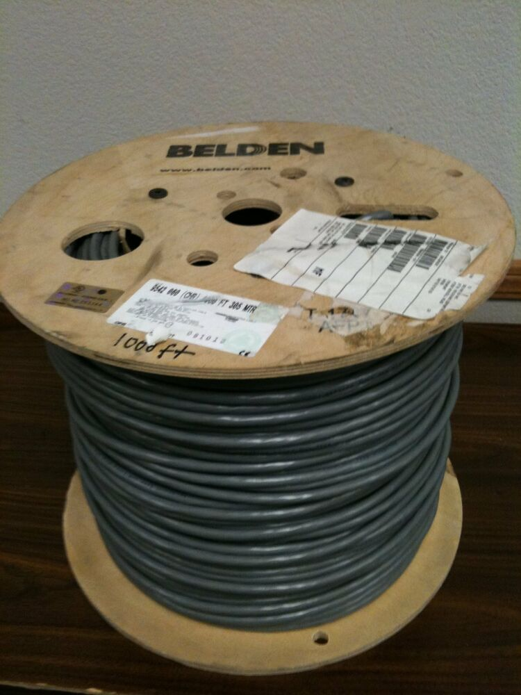 Belden 9542 0601000 Shield Cable 20 Conductors 24awg