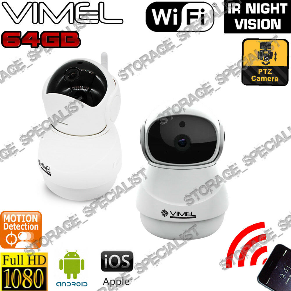 ip camera nanny cam security wireless cctv wifi hd alarm night vision micro sd ebay. Black Bedroom Furniture Sets. Home Design Ideas