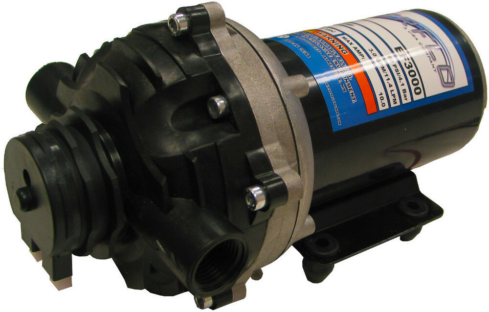 EVERFLO 12 Volt 3.0 GPM Diaphragm Water Transfer Pump for ...