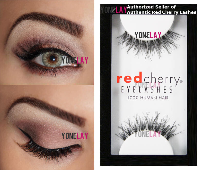 Lot 6 Pairs Genuine Red Cherry Dw Demi Wispies Human Hair