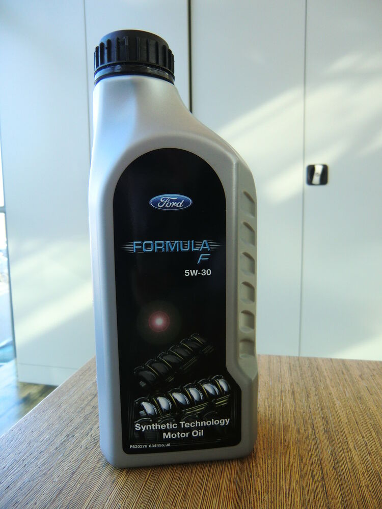original ford formula f sae 5w 30 motor l motor oil 1l flasche neu 1343792 ebay. Black Bedroom Furniture Sets. Home Design Ideas