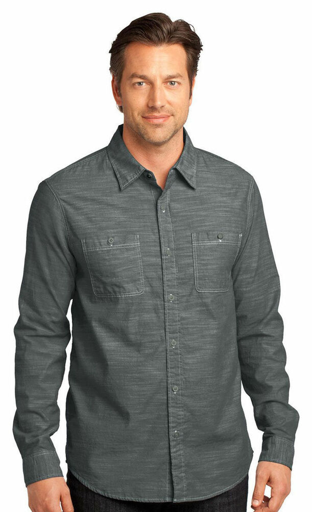cotton chambray work shirt - 18 results from brands Key, Guy Harvey, Landway, products like Men Classic Chambray Workshirt, Key Short Sleeve Blue Chambray Workshirt, Key Pre-Washed Long-Sleeve Chambray Western Shirt, Men's Shirts & T-Shirts.