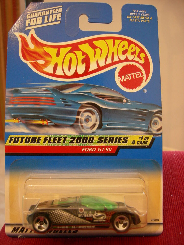 hot wheels ford gt 90 black future fleet 2000 series 1 of 4 3 sp wheels ebay. Black Bedroom Furniture Sets. Home Design Ideas