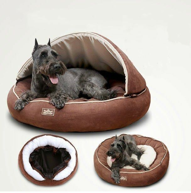 New Half Covered Pet Dog Cat Bed Sleeping Bag House Roof ...