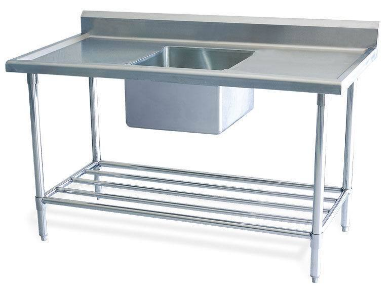Industrial Sink Uk : New Stainless Steel Commercial Catering Kitchen Sink unit 1200 w x ...