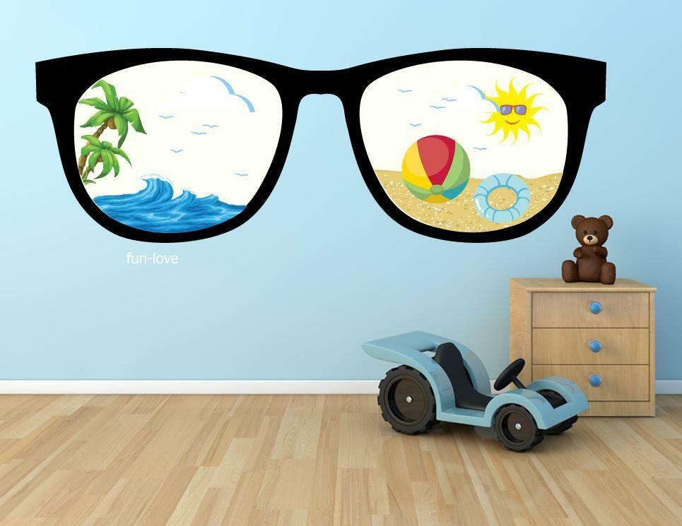 Wall Stickers Cartoon Cute Design Nursery Kids Decals Home