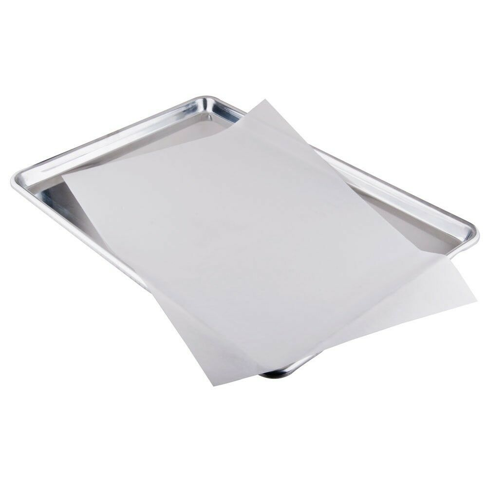 parchment paper sheets When a recipe calls for parchment paper, what can i use as a substitute  if you have reusable silicone sheets, you can substitute them for parchment paper.