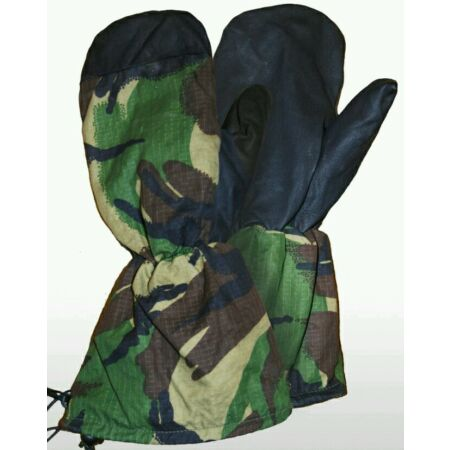 img-BRITISH ARMY GLOVES - DPM - EXTREME COLD WEATHER - INNER MITTENS - NEW