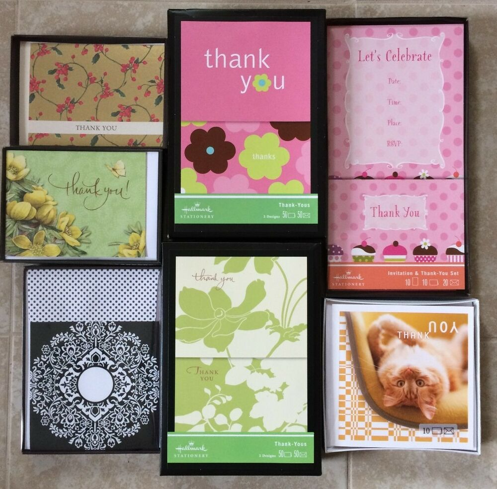 Boxed Hallmark Greeting Cards