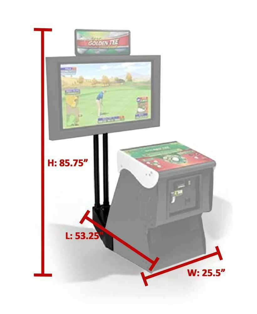 Golden tee clubhouse edition arcade game
