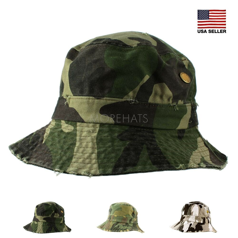 Mens womens unisex casual military camo camouflage fishing for Womens fishing hat