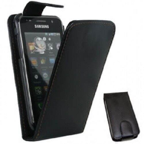 blaleather case phone cover card slots for samsung galaxy ace gt s5830 gt s5830i ebay. Black Bedroom Furniture Sets. Home Design Ideas