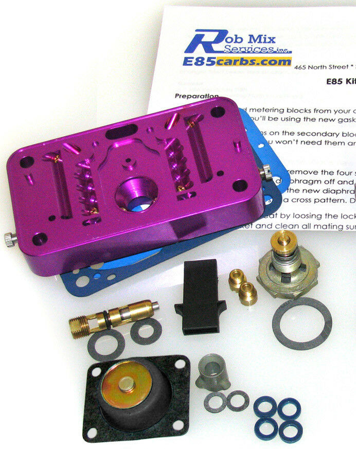 4412 or 2300 e85 conversion kit for holley 500 350 2 br carb pur do it yourself ebay. Black Bedroom Furniture Sets. Home Design Ideas