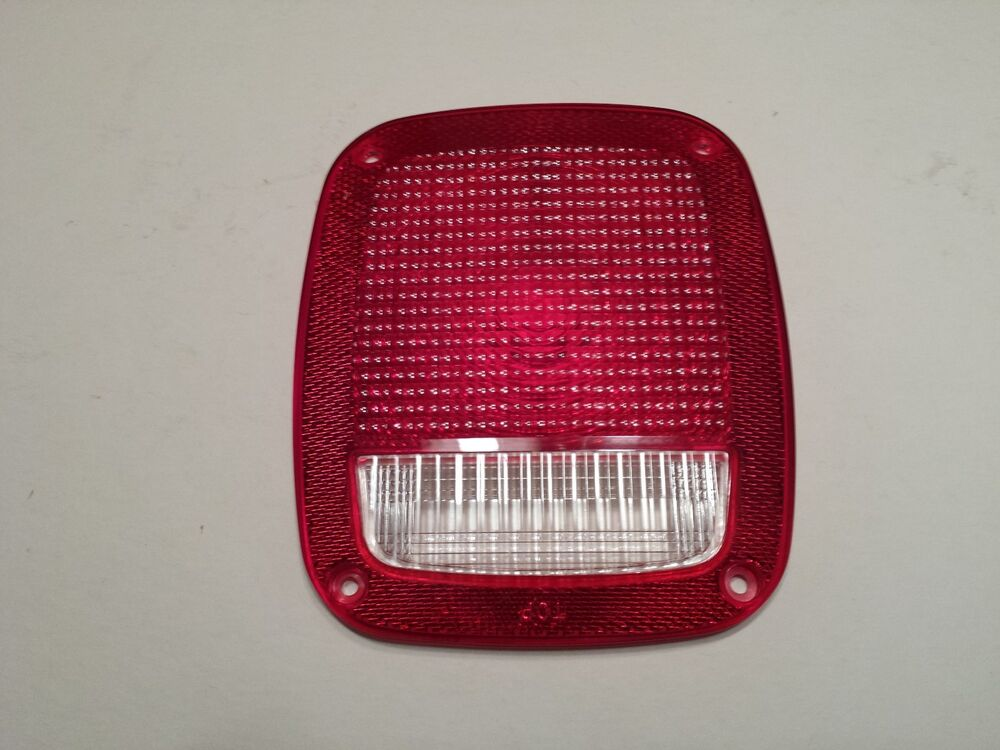 Jeep 1976 2006 Cj5 7 8 Yj Tj Tail Light Lens Great Oem