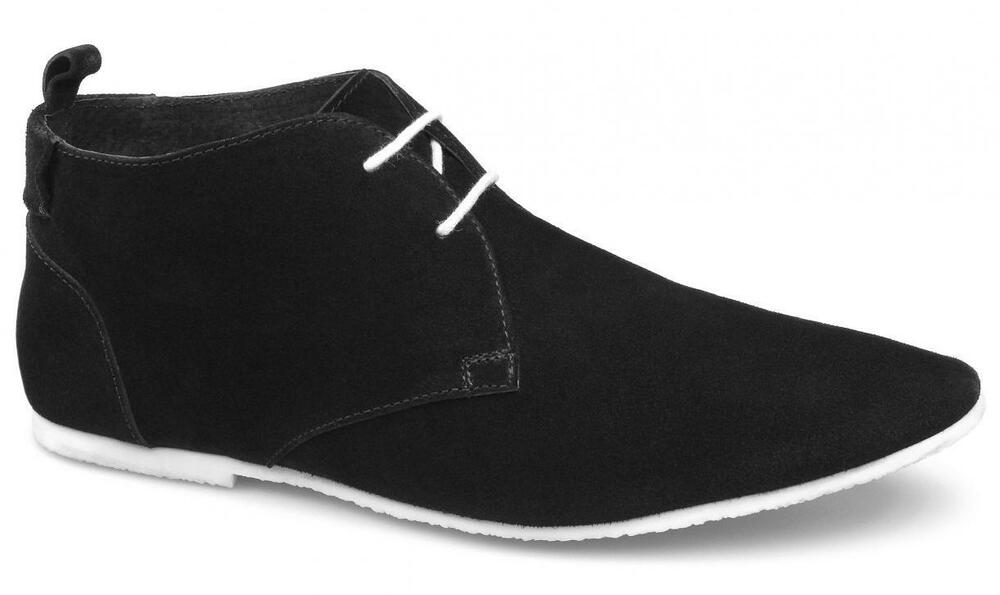 gucinari mens soft suede leather lace up pointed casual