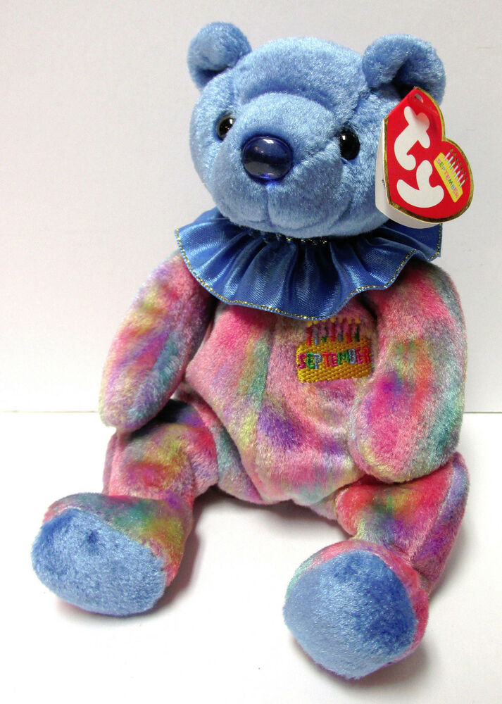 Ty Beanie Baby Quot September Quot Birthday Beanie Collection New