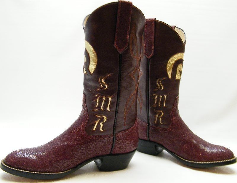 Womens Amado S Custom Made Initial Quot R Quot Quot Smr Quot Stingray