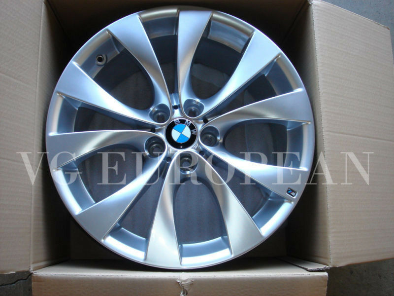 Bmw E70 X5 Genuine M Wheels Rims 20 Quot Style 227 V Spoke Ebay