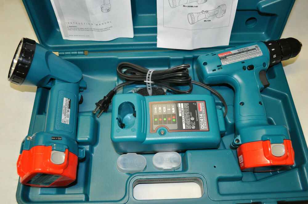 makita 6227dwle 12 volt ni cad 3 8 inch cordless driver drill kit with flashligh ebay. Black Bedroom Furniture Sets. Home Design Ideas