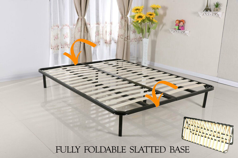 Slatted Folding Guest Bed Bed Base In Single Double King