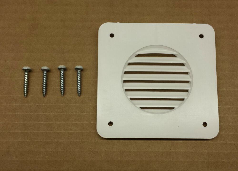New Rv Camper Trailer Battery Box Vent White Ebay
