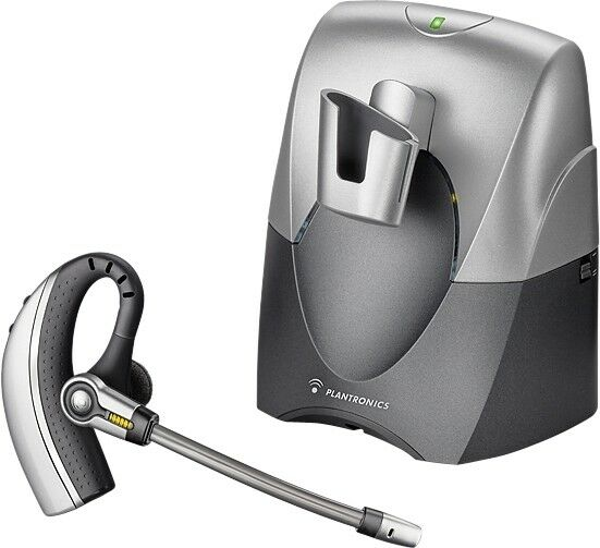 Plantronics cs70 wireless dect 6 0 office voice tube over ear headset system 17229120471 ebay - Phone headsets for office ...