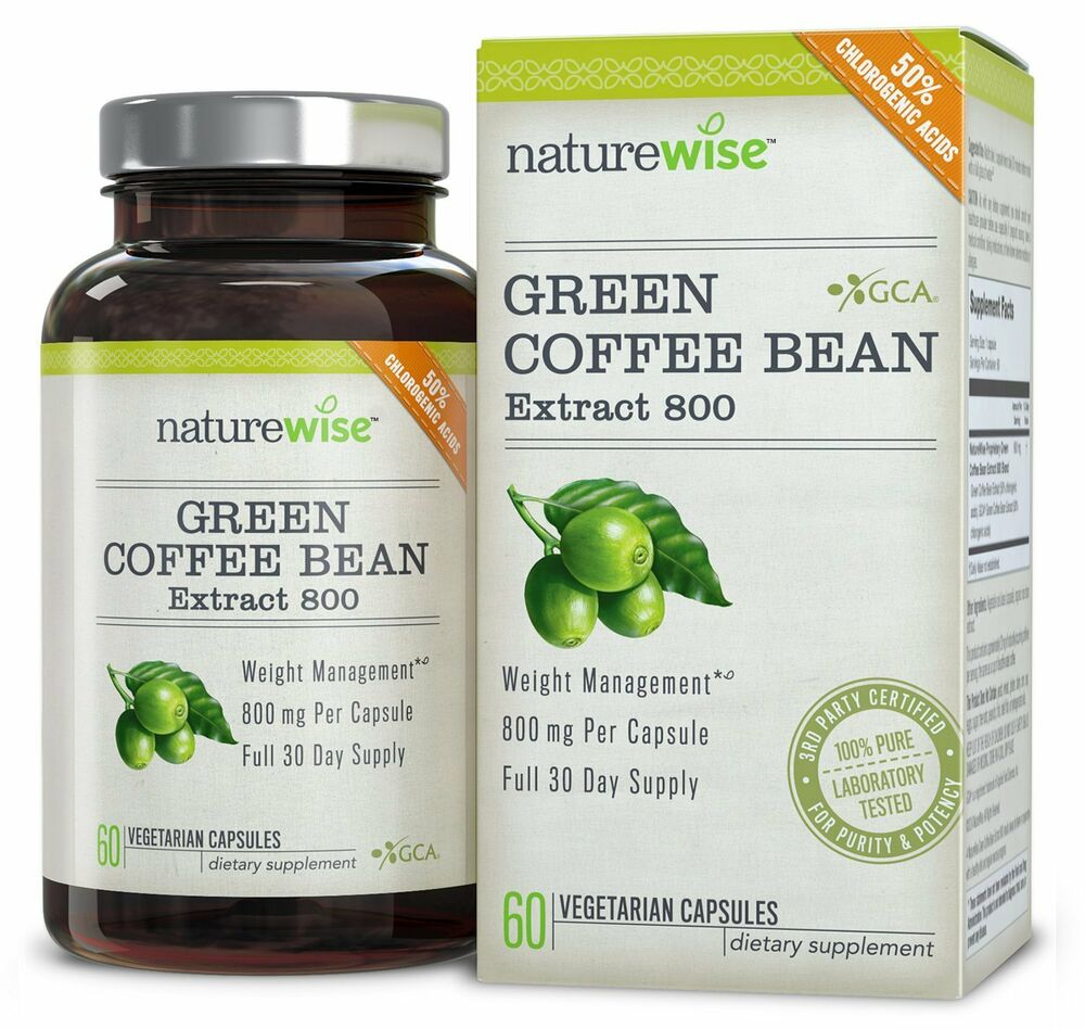 Green Coffee Bean Extract GCA Natural Weight Loss ...