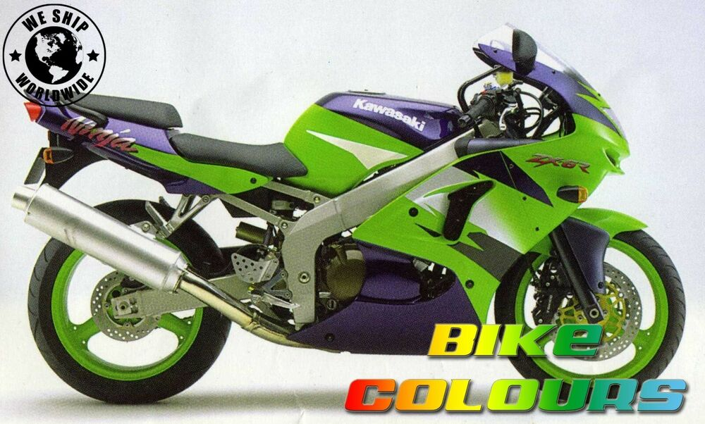 Lime Green Kawasaki Touch Up Paint