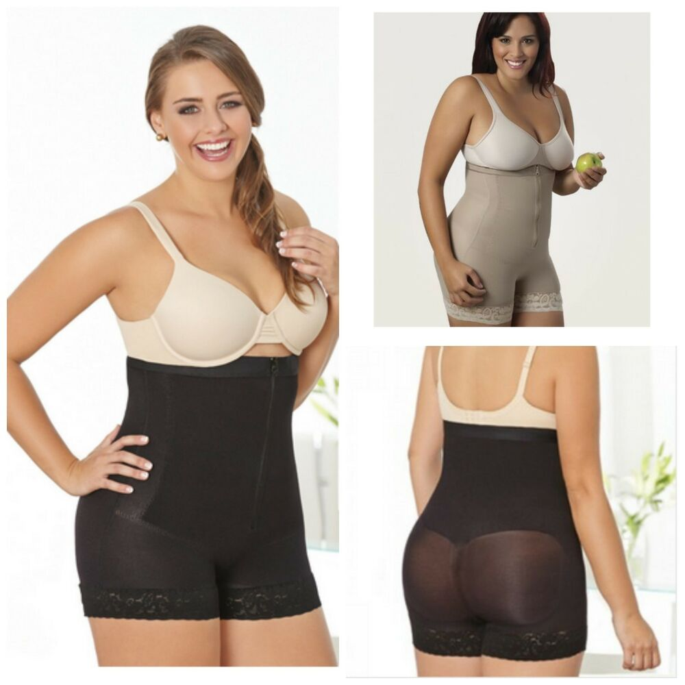 0d10384ab60 Details about Co Coon Thermal Zipper Girdle Panty Plus Size Ref. 4505