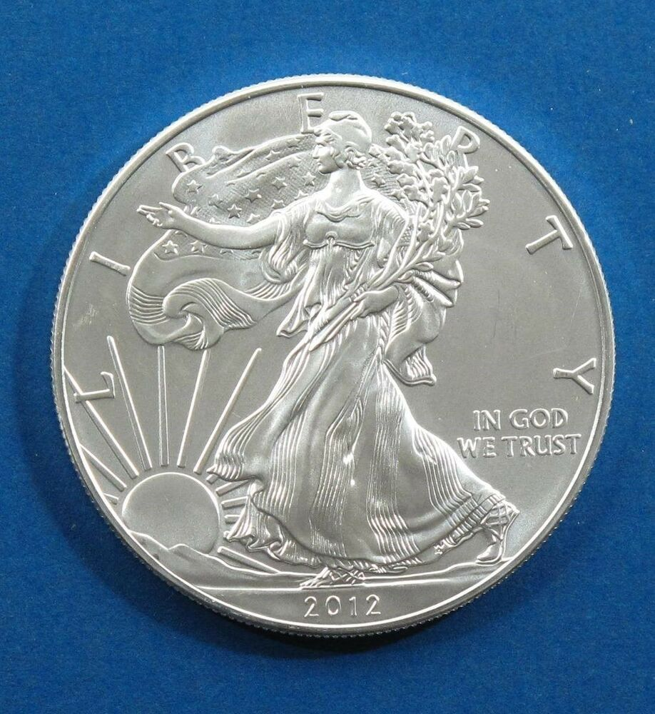1 Oz Silver American Eagle Colorized