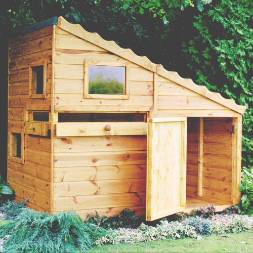 Shire Command Post Wooden Playhouse Wendy House