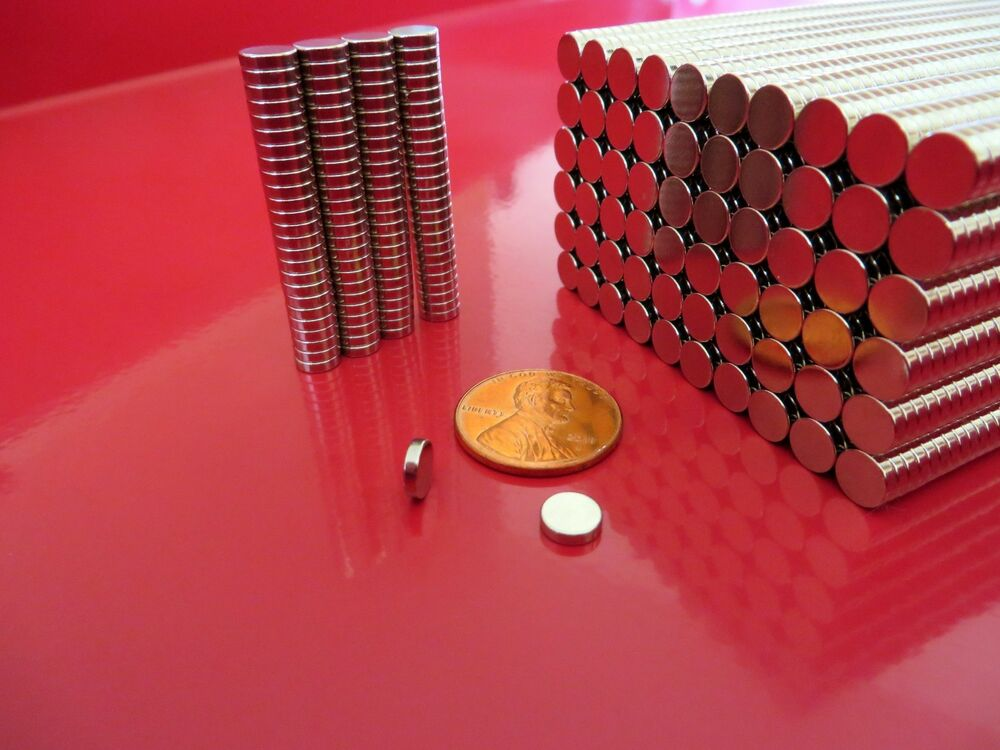 50 strong rare earth neodymium disc craft magnets 6 x 1 for Where to buy magnets for crafts