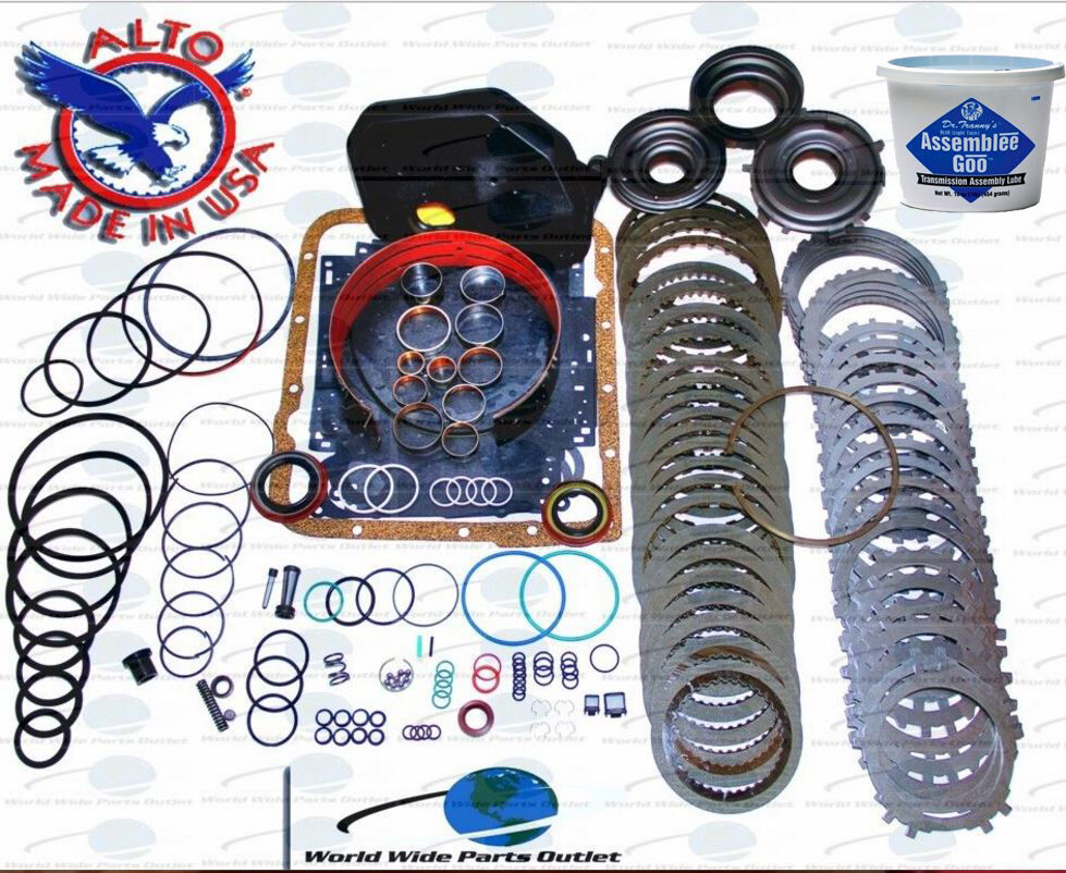 Gm 4l60e Transmission Powerpack Rebuild Kit 1997 2003