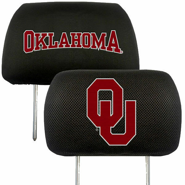 Oklahoma Sooners 2-Pack Auto Car Truck Embroidered