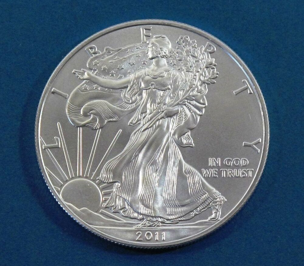 2011 American Silver Eagle Walking Liberty Coin 1oz 999